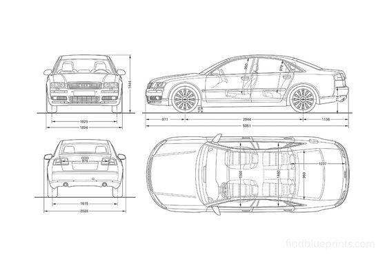 Audi A8 D3 (Typ 4E) Sedan 2003