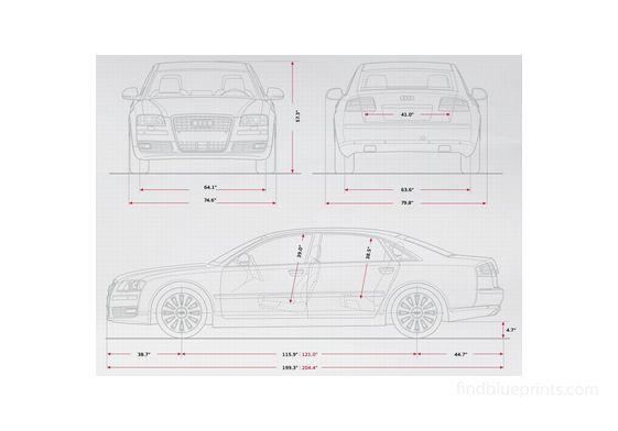 Audi A8 D3 (Typ 4E) Sedan 2009