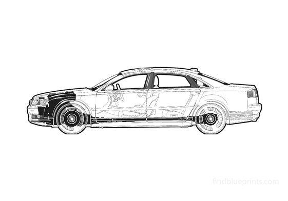 Audi A8 D3 (Typ 4E) L Sedan 2006