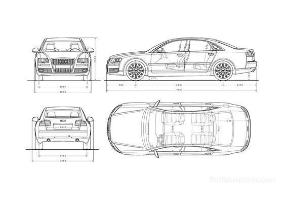 Audi A8 D3 (Typ 4E) W12 Sedan 2009