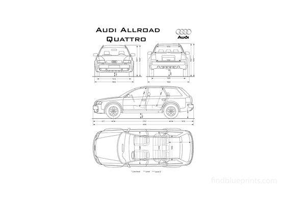 Audi Allroad C5 Quattro Wagon 1999