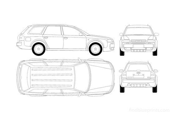 Audi Allroad C5 Quattro Wagon 2003