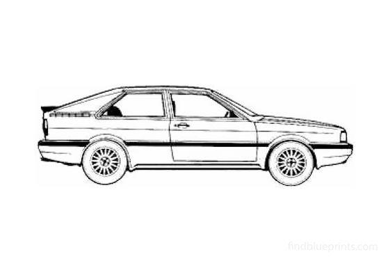 Audi GT Coupe 1985