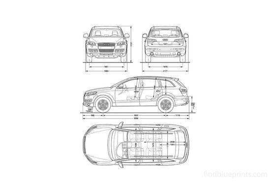 Audi Q7 SUV 2005