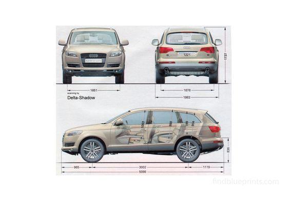 Audi Q7 SUV 2006