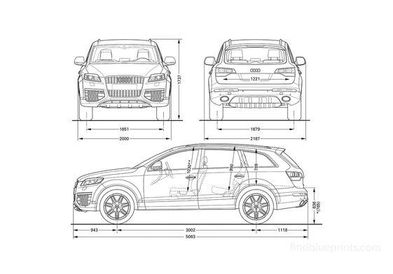 Audi Q7 V12 TDI SUV 2006