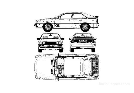 Audi Quattro Coupe 1980