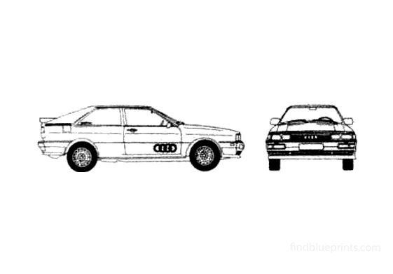 Audi Quattro Coupe 1982