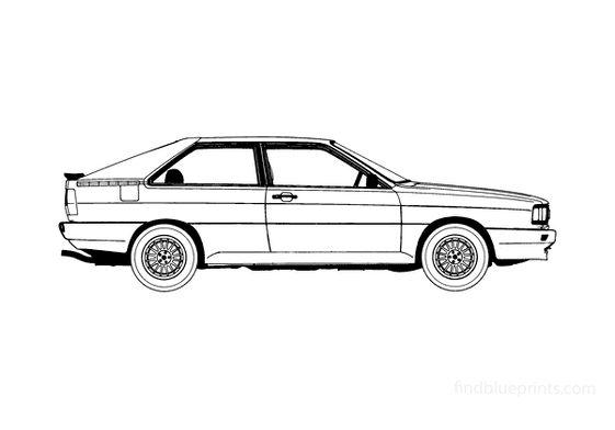 Audi Quattro Coupe 1984