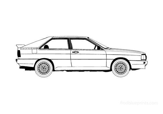 Audi Quattro Coupe 1986