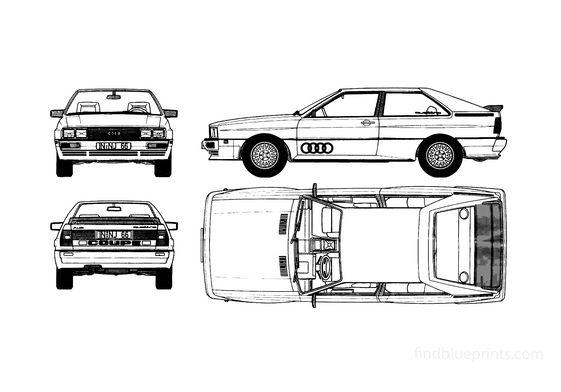 Audi Quattro Hatchback 1984