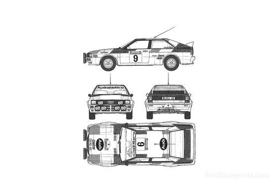Audi Quattro A2 Coupe 1981