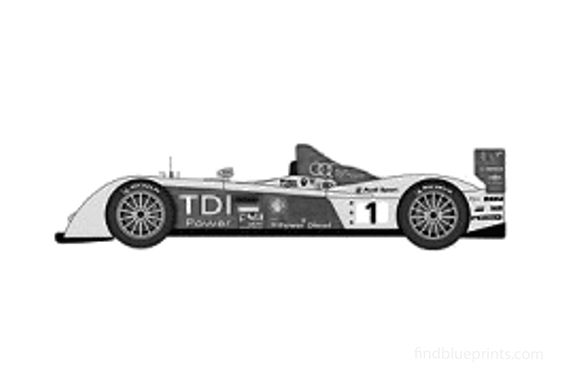 Audi R10 TDi Le Mans Targa 2007