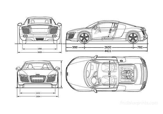Audi R8 Coupe 2008