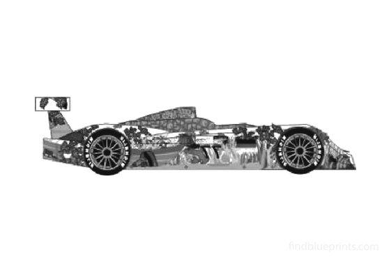 Audi R8 Crocodile Le Mans Coupe 2000