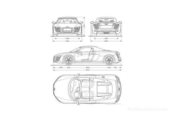 Audi R8 Spyder 5.2 FSi Quattro Roadster 2011