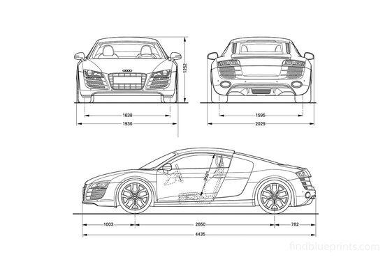 Audi R8 V10 Coupe 2007