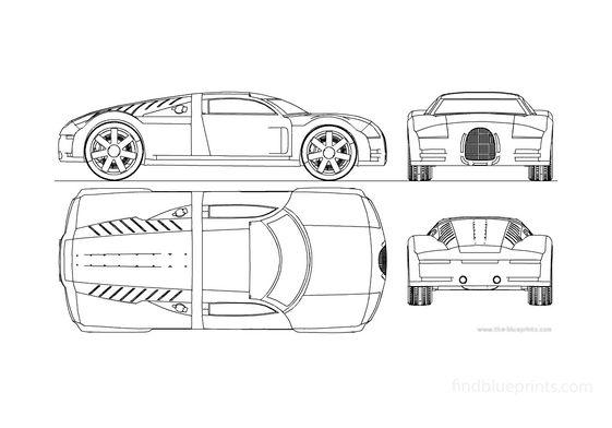 Audi Rosemeyer Coupe 2000