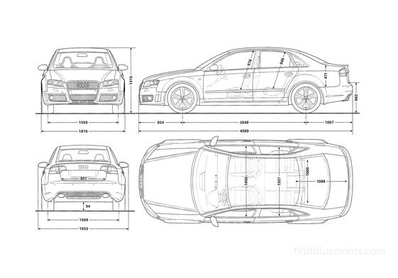 Audi RS4 B7 (Typ 8E) Sedan 2005