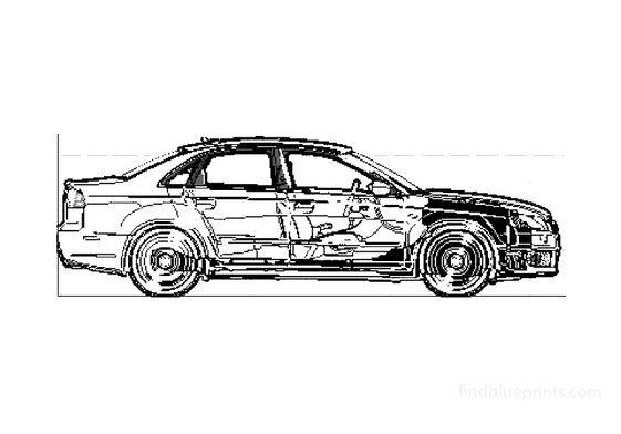 Audi RS4 B7 (Typ 8E) Sedan 2008
