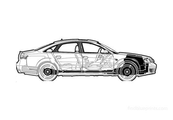 Audi RS6 C5 (Typ 4B) Sedan 2003