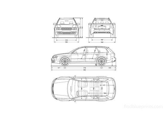 Audi RS6 C5 (Typ 4B) Wagon 2002
