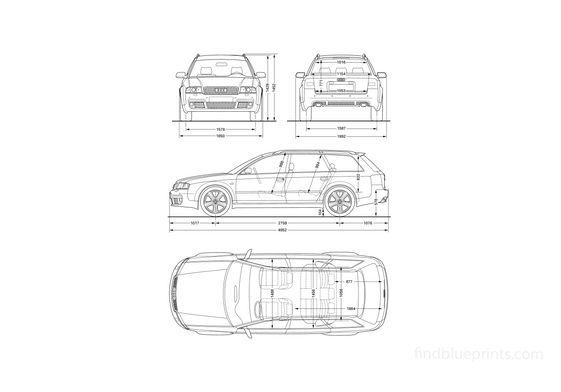 Audi RS6 C5 (Typ 4B) Avant Wagon 2002