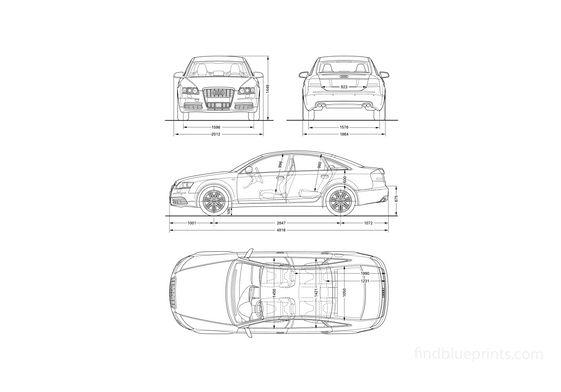 Audi RS6 C6 (Typ 4F) Wagon 2008
