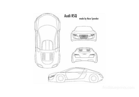 Audi RSQ Coupe 2004