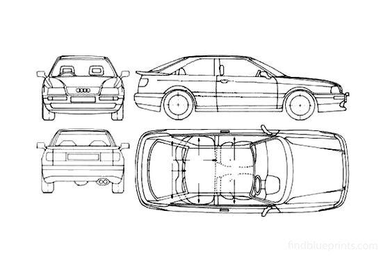 Audi S2 B4 Coupe 1990