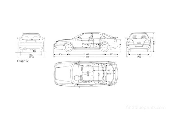 Audi S2 B4 Coupe 1991
