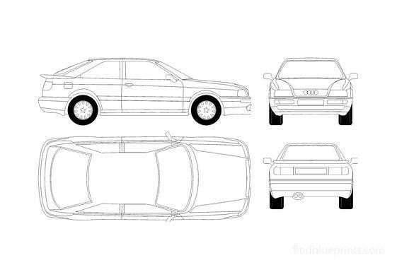 Audi S2 B4 Coupe 1995