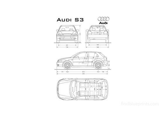 Audi S3 (Typ 8L) Hatchback 1999
