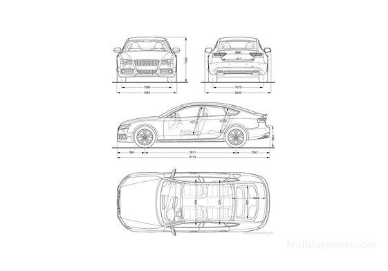 Audi S5 Sportback Hatchback 2011
