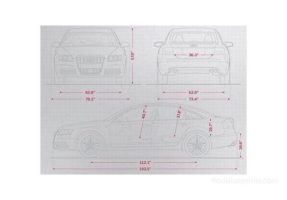 Audi S6 (Typ 8T) Sedan 2009