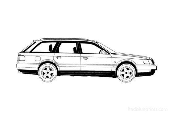 Audi S6 C4 (Typ 4A) Avant Wagon 1995