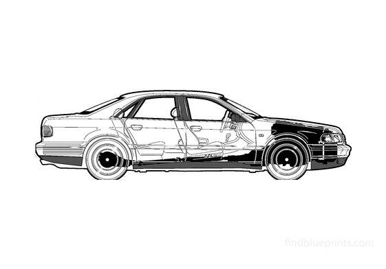 Audi S8 D2 (Typ 4D) Sedan 2001