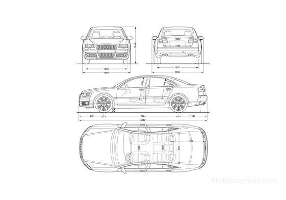 Audi S8 D3 (Typ 4E) Limousine 2005