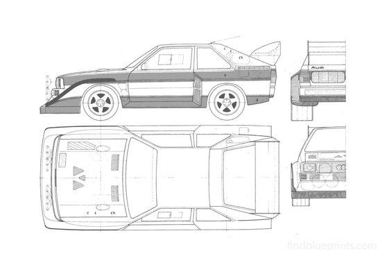 Audi Sport Quattro S1 Coupe 1984