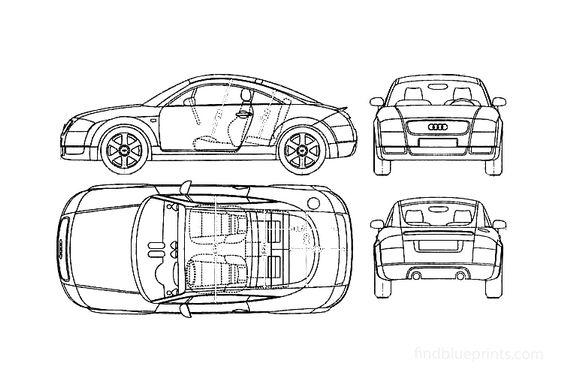 Audi TT (Typ 8J) Coupe 1999
