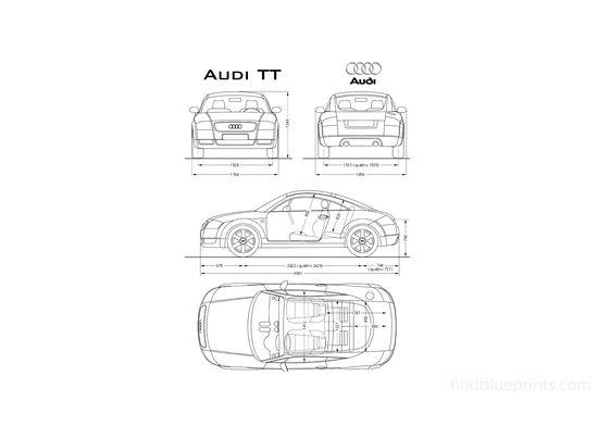 Audi TT (Typ 8N) Coupe 1999