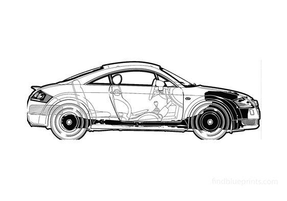 Audi TT (Typ 8N) Coupe 2003