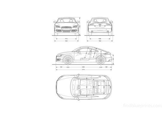 Audi TT 8J Coupe 2008