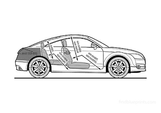 Audi TT 8J 2.0 TDI Quattro Coupe 2008