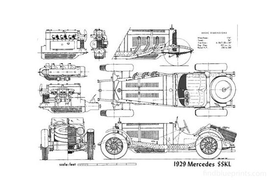 Mercedes SSK L 1929
