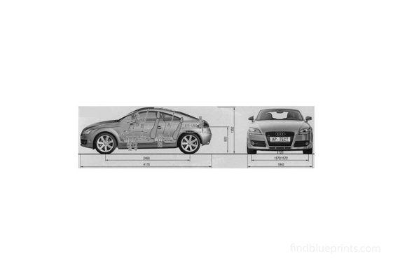 Audi TT (Typ 8J) Coupe 2007
