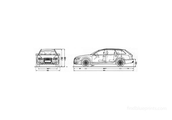 Audi Allroad C6 Quattro Wagon 2007