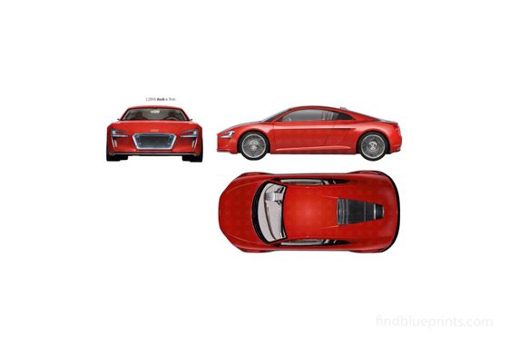 Audi e-Tron Electric Coupe 2010