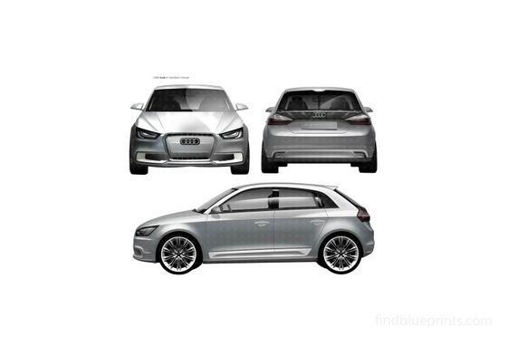 Audi A1 Sprotback Concept Hatchback 2009