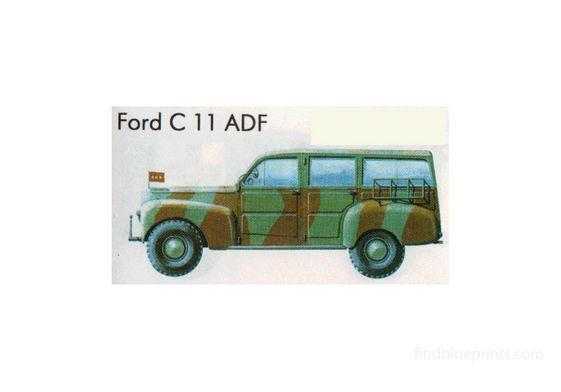 Ford C11 ADF SUV 1941